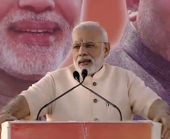 Our priority is dignity of labour, says PM Modi