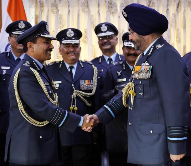 Air Chief Marshal BS Dhanoa takes over as Chief of Air Staff