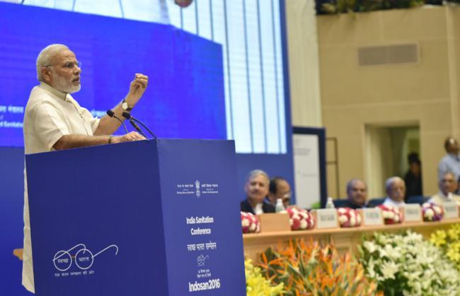 PM delivers inaugural address at INDOSAN
