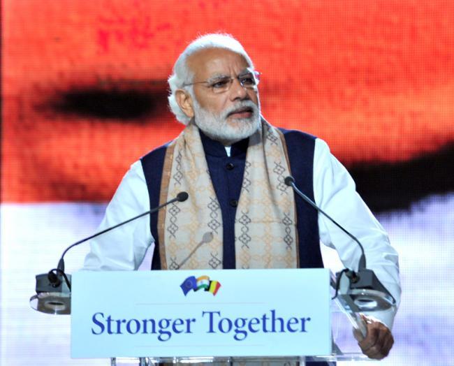 We dream to see Team India: Modi says at Ek Nayi Subah event