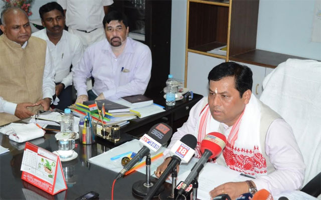 Problems of Civil Defence and Home Guards to be solved resolutely: Sonowal