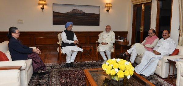 PM Narendra Modi wishes Sonia Gandhi on her birthday