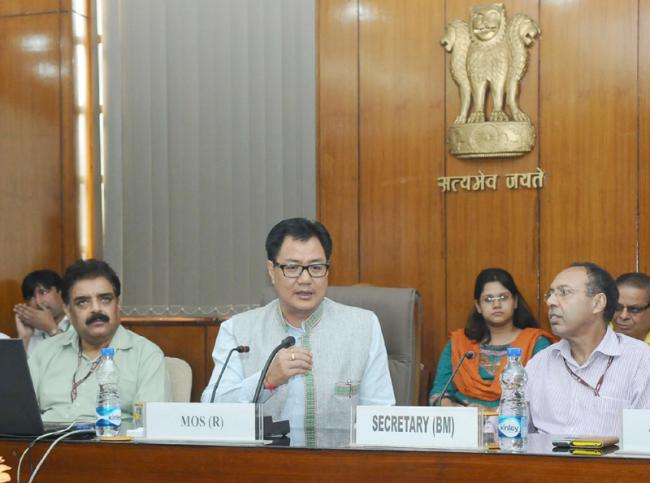 Kiren Rijiju to lead Indian delegation to GPDRR to be held at Cancun