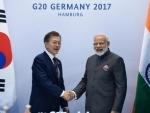 Modi meets South Korea's President Moon Jae-in