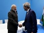 Narendra Modi meets Italian Prime Minister
