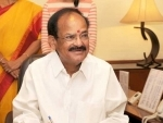 Vice President Venkaiah Naidu condoles the loss of lives in UP train accident