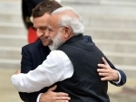 PM Modi holds talks with French President Emmanuel Macron in Paris