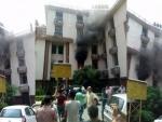 Major fire breaks out in Assam Secretariat