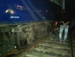 West Bengal: Rampurhat-Burdwan Express derails in Birbhum, no casualties