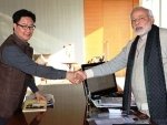 Rijiju appeals all Indian insurgent groups to come mainstream