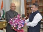 Mukul Roy meets President Ram Nath Kovind