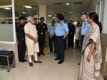 IAF Marshal Arjan Singh 'critically ill', Narendra Modi visits R&R Hospital