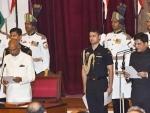 Suresh Prabhu congratulates new Railway Minister Piyush Goyal