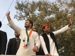 Assembly polls: Akhilesh Yadav, Rahul Gandhi participate in road show in UP
