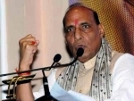 Rajnath Singh lays the foundation stone of new NDRF campus in Andhra Pradesh