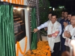Sonowal unveils Dr. Bhupen Hazarika's statue at new office campus of Prag News Channel