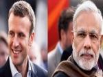 Indian PM Narendra Modi calls up French President-elect Emmanuel Macron, congratulates him