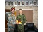 Japanese Self Defence Force delegation team visits CIJW School