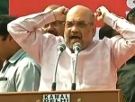 Fight the brutal Left: Amit Shah in Delhi