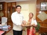 Birubala Rabha meets Assam CM