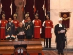 Justice Jagdish Singh Khehar sworn in as new Chief Justice of India