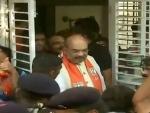 Amit Shah begins door to door campaign in Gujarat