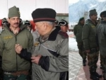 Indian Army Chief visits Siachen