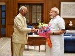 NDA candidate Ram Nath Kovind files his nomination to contest Prez poll