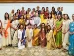 PM Modi interacts with recipients of Nari Shakti Puraskar – 2016