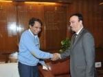 UAE Ambassador India meets Suresh Prabhu