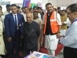 Pranab Mukherjee inaugurates the National Skill Exhibition, DTIs and Pradhan Mantri Kaushal Kendras
