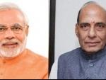 PM Modi greets Rajnath Singh on birthday