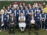 PM Modi meets youth, children from Jammu and Kashmir