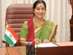 We have secured the release of 5 Indians from Kerala jailed in Togo: Sushma