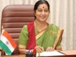 Sushma Swaraj urges stranded Indians to register on MADAD portal