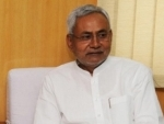 Nitish Kumar lands in fresh controversy after filling colours in 'lotus'