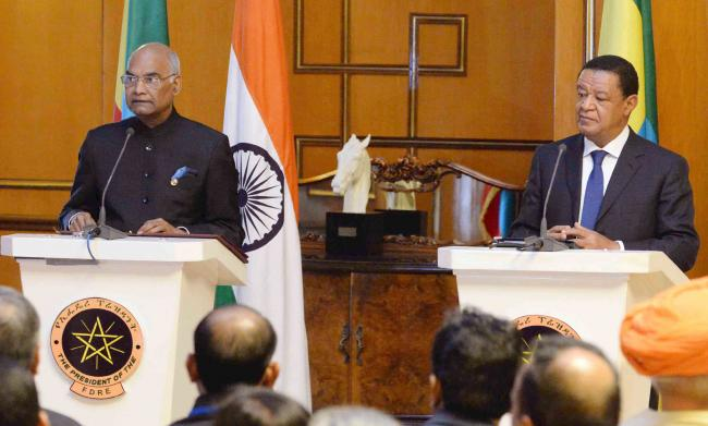 India's trade and investment relationship with Ethiopia is very strong, says President