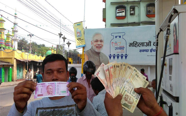 Delhi police seize fake new currency notes