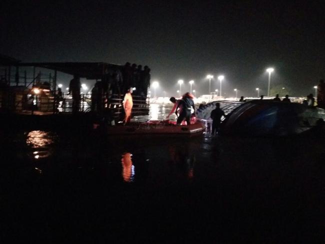 Andhra Pradesh Boat Capsizes In Krishna River 11 Killed