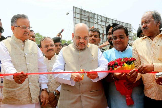 Amit Shah inaugurates MODIFEST in Chhattisgarh