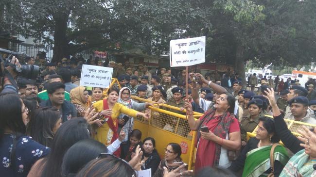 Gujarat polls: Congress slams EC for 'failure to act' over Modi's roadshow