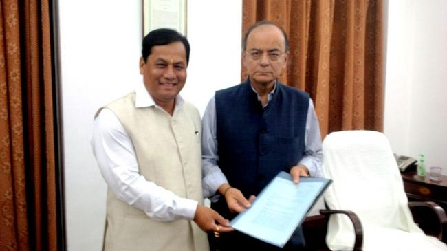 Sonowal seeks FM intervention for release of funds under FMP, enhancement of normative allocation under RIDF, oil royalty arrear