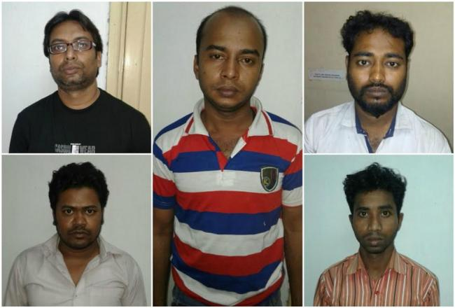 Rs 57 lakh in fake currency seized in Kolkata, five held