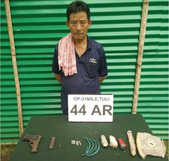 Arms-ammu, explosives recovered in Nagaland