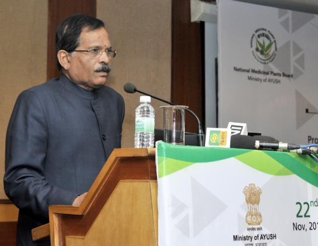 AYUSH Ministry holds review meeting to examine draft of National Policy of Medicinal and Aromatic Plants   Indiablooms - First Portal on Digital News Management