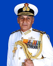 Indian Navy chief Sunil Lanba visits Bangladesh