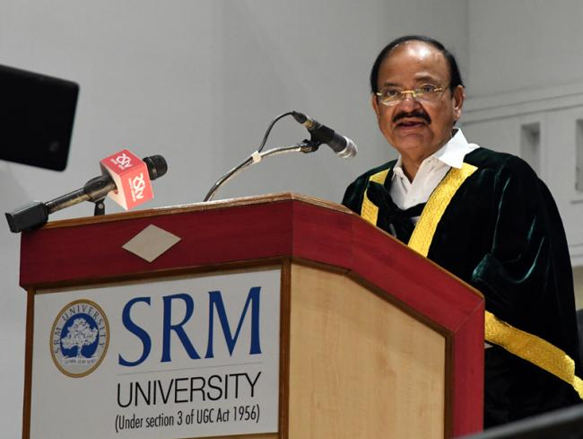 Character, caliber, hard work and discipline are important qualities for achieving success: Vice President