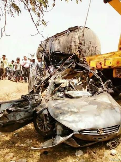 West Bengal: Family of seven killed in road mishap on Durgapur Expressway