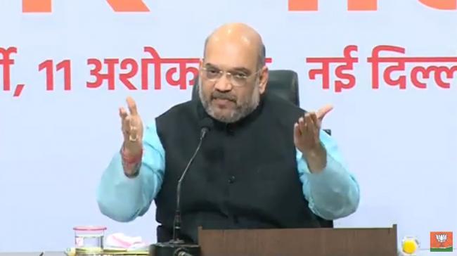 Modi government working hard to create new India: Amit Shah