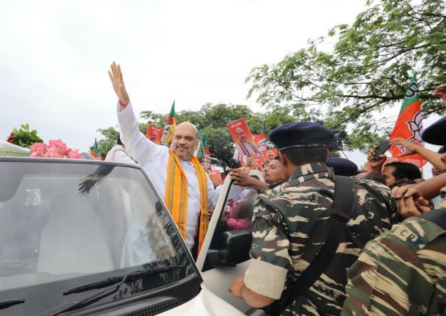 Amit Shah visits Odisha